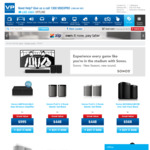 15% off Sonos (e.g. Sonos One Pair (Gen 1) $482.80, Sonos Amp $845.76), Free Delivery to Most Areas @ Videopro