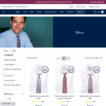 Charles Tyrwhitt 3 Shirts for $99 with Free Delivery