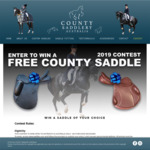 Win a County Saddle of Your Choice from County Saddlery Australia