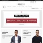 Spend $150 Save $50, Spend $300 Save $100, Spend $500 Save $200 (Free Delivery over $99) @ Brooksfield Australia