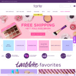 Free Shipping + $1 Full Sized Brush (With $35+ Spend) @ Tarte Cosmetics