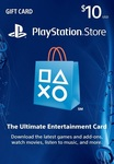 [PS4] PlayStation Store 10 USD PSN Gift Card US $9.03 (~AUD $11.56) @ LVLGO [US PS Acounts]