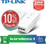 TP-Link TL-WPA8630P KIT AV1300 Wi-Fi Passthrough Range Extender Powerline $152.15 (Plus) $161.10 (Non Plus) @ Wireless1 eBay