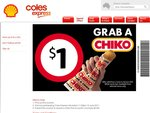 Coles Express - Chiko Roll $1