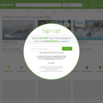 Groupon 10% Discount on Goods + 15% Cashback with ShopBack