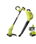 [TAS] Ryobi ONE+ 18V 4Ah Line Trimmer and Blower Kit - $139 @ Bunnings Devonport