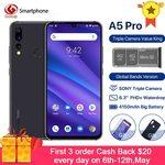 UMIDIGI A5 Pro (4GB RAM 32GB ROM Android 9) US $105.60 (~AU $150) Delivered @ AliExpress