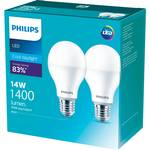 ½ Price - Philips LED Light Bulbs Twin Pack 470/806/1055lm $6.50   1400lm $7.50 @ Woolworths (Online Only)