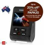 Viofo A119S Dashcam V2 $104 (OOS), Viofo A129 Duo IR Dual Dash Cam $183.20 + Del ($0 with eBay Plus) @ Shopping Square eBay