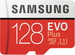 Samsung EVO Plus 128GB microSDXC Memory Card with SD Adapter $29.75 C&C @ The Good Guys eBay