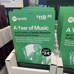 Spotify Membership (12 Months) for $118.99 ($24 off) @ Costco (Membership Required)