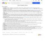 3% off Eligible Items - $30 Minimum Spend (Max Discount $1000) @ eBay Australia