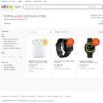 Apple Airpods 2 with Charging Case $197.64, Samsung Gear Sport $188, Fitbit Versa $205 + Del ($0 w/eBay Plus) @ Allphones eBay