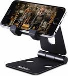 Tendak Foldable Mobile Phone Stand $9.99 + Delivery ($0 with Prime/ $39 Spend) @ TendakDirect via AmazonAU