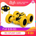 1/28 RC Stunt Car High Speed 360° Flips Double Sided Tumbling RC Car US $5.71 (~AU $8.28) @ Tomtop RC Store via AliExpress