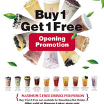 [SA] Buy 1, Get 1 Free (Top Ten Only) @ Gong Cha Mawson Lakes
