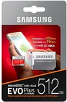 Samsung EVO Plus 512GB MicroSD Card $99 Delivered (AU Stock) @ Phonebot