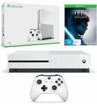 Xbox One S 1TB + Star Wars Jedi: Fallen Order OR Forza Horizon 4 & LEGO Speed Champions DLC $249.86 Posted @ The Gamesmen eBay