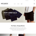 50% off Full RRP Herschel, Mr Simple, Clae & Electric Items Only @ Mr Simple