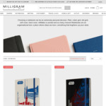 $10 Limited Edition Moleskine Notebooks at Milligram