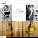 30% off Selected Full Price Mens & Womens Jeans, Shorts and Pants @ Guess