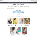 Win a Self-Care Package Worth Over $1,000 from Active Truth