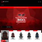 20% off All Gaming Chairs + $30 Delivery @ Ewin Racing