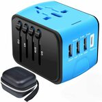 Adapter Plug 15%-20% off for 3 USB/Type C $19.19 - $22.99 (Was $23.99 - $26.99) + Delivery ($0 Prime/ $39 Spend) @ SZROBOY