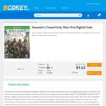[XB1] Assassin's Creed Unity Digital Code $1.3 (~AUD $1.88) @ BCDKEY