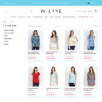 Selected Sale Clothes Reduced to $5 + Free Delivery Over $80 @ WLANE