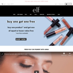 Buy One Get One Free (Excludes New Releases, Includes Sale Items from $1) + $7 Shipping/ Free with $40 @ E.l.f. Cosmetics