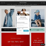 20% off at The Iconic (Selected Full Priced Items - Min $99 Spend) + 7% Cashback via ShopBack App Only