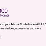 Telstra Plus: 25,000 Bonus Points with Direct Debit Setup