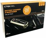 CTEK MXS5.0 Value Pack: Charger + Bumper + Comfort Connect + Power Bank - $99 + Delivery (Free in VIC) or Free C&C @ Repco