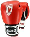 GEL Leather Boxing Gloves - $40 (Were $69.95) + Postage @ Madison Sport