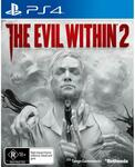 [PS4] The Evil Within 2 $5 + Delivery ($0 Pickup) @ JB Hi-Fi