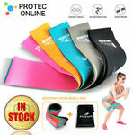 Resistance Bands Power Heavy Strength Exercise Fitness Gym CrossFit Yoga $9.90 Delivered @ Protec.online eBay