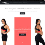 50% off BlackFriday Sale. New 'Essential' SuperSquat Proof Leggings & Shorts Covered @ ThiqActive