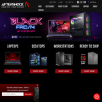 up to $734 off Custom Gaming PCs & Laptops + up to 24% off Ready to Ship Pre-Builds @ Aftershock PC