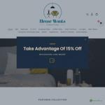 15% off Storewide (Furniture) @ HomeWants