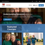 Understanding Dementia - Free Online Course Run by Wicking Dementia Research and Education Centre @ University of Tasmania