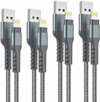 Arshcea MFI Certified iPhone Cable (4 Pack 2x3ft 2x6ft) $15.36 + Delivery ($0 with Prime/ $39 Spend) @ Arshcea via Amazon AU