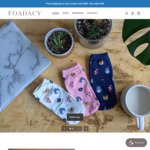 Afterpay Day Sale: 20% off Storewide + $3 Delivery ($0 with $35 Spend) @ Foadacy (Korean Socks)