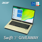 Win an Acer Swift 3x Laptop Worth $1,599 from Acer