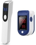 Blood Oxygen Monitor+Non-Contact Thermometer US$11.39 (~A$14.93) Delivered @ Tomtop