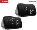 "[UNiDAYS] 2x Lenovo 4"" Smart Clock Essential $89.10 + Shipping (Free with Club) @ Catch"