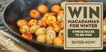 Win 1 of 8 Prize Packs from Australian Macadamia Society