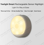 Yeelight Rechargeable Sensor Nightlight  $11.54 (Was $23.08) + $8 Post ($0 with $100 Spend) @ Yeelight