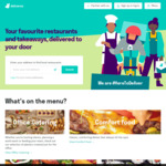 [NSW] Free Delivery with Most Sydney Restaurants until 2nd July (Minimum Spend Applies) @ Deliveroo