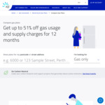 [WA] 51% off Gas Usage and Supply Charges for 12 Months (ATCO Service Areas) @ AGL